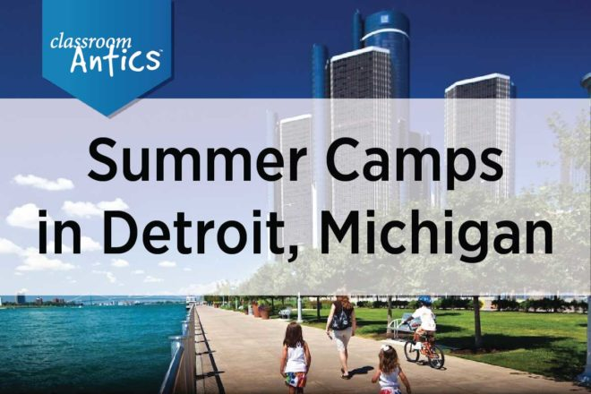 Summer Camps in Detroit Michigan