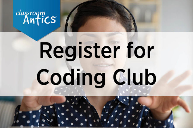 Register for Coding Club